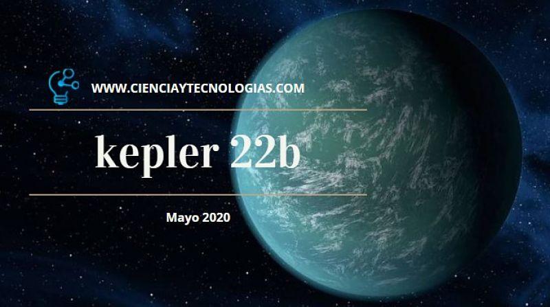 Imagen del Kepler 22b