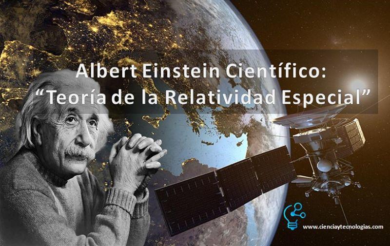 Albert Einstein, Teoría de la Relatividad Especial