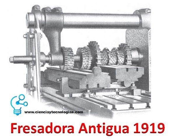 Fresadora antigua 1919