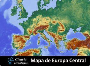 Mapa de Europa central