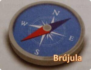 Brújula instrumento de orientación
