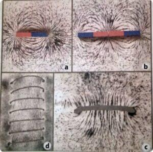 Las limaduras de hierro nos ayudan a comprender la electricidad y el magnetismo