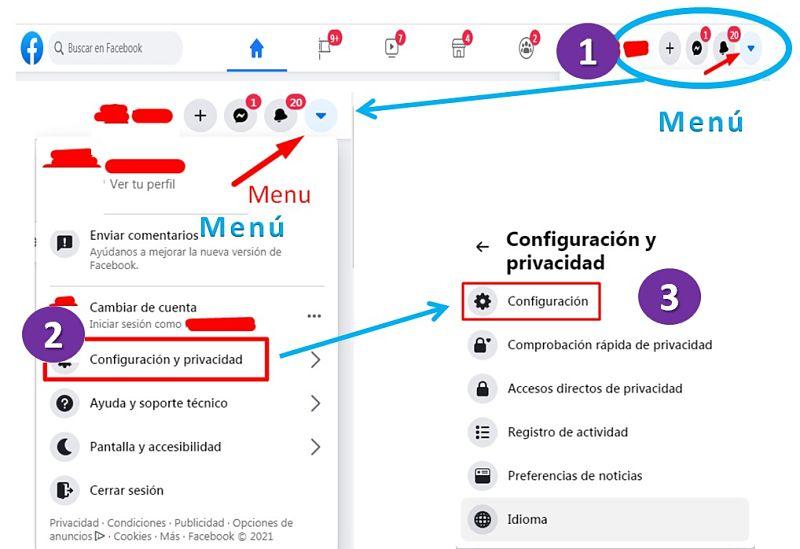 Primeros 3 pasos para configurar Facebook