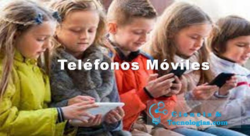 teléfonos móviles a que edad es conveniente usarlo