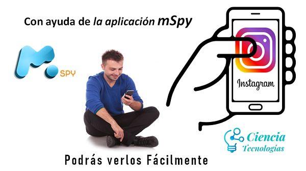 Con ayuda de la aplicación mSpy podrás ver los perfiles de instagram