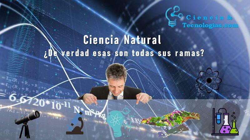 ciencias naturales, De verdad esas son todas sus ramas, hombre viendo logos sobre astronomía, biología, física, geología y química