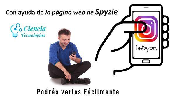 con ayuda de la página web Spyzie podrás ver los perfiles de instagram fácilmente